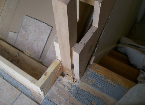 Interior Stair Repair
