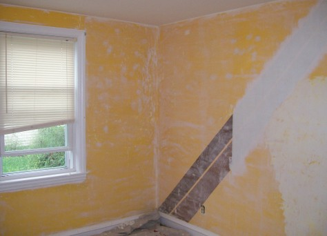 interior wall preparation